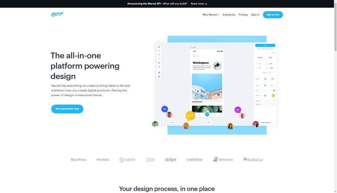 Marvel - The design platform for digital products