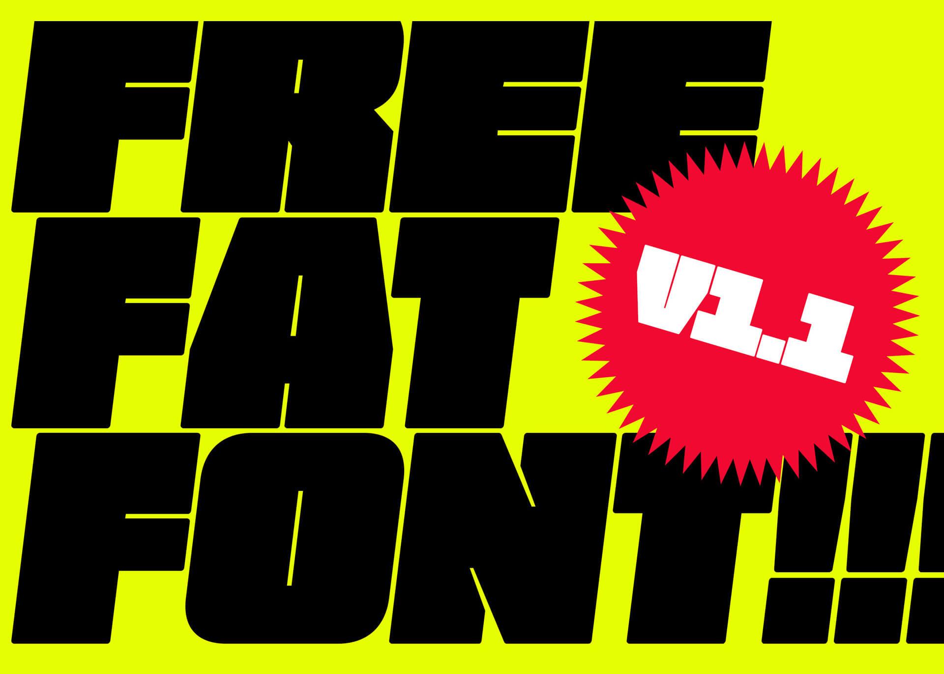Fat Font