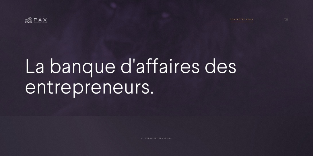 Accueil - Pax Corporate Finance