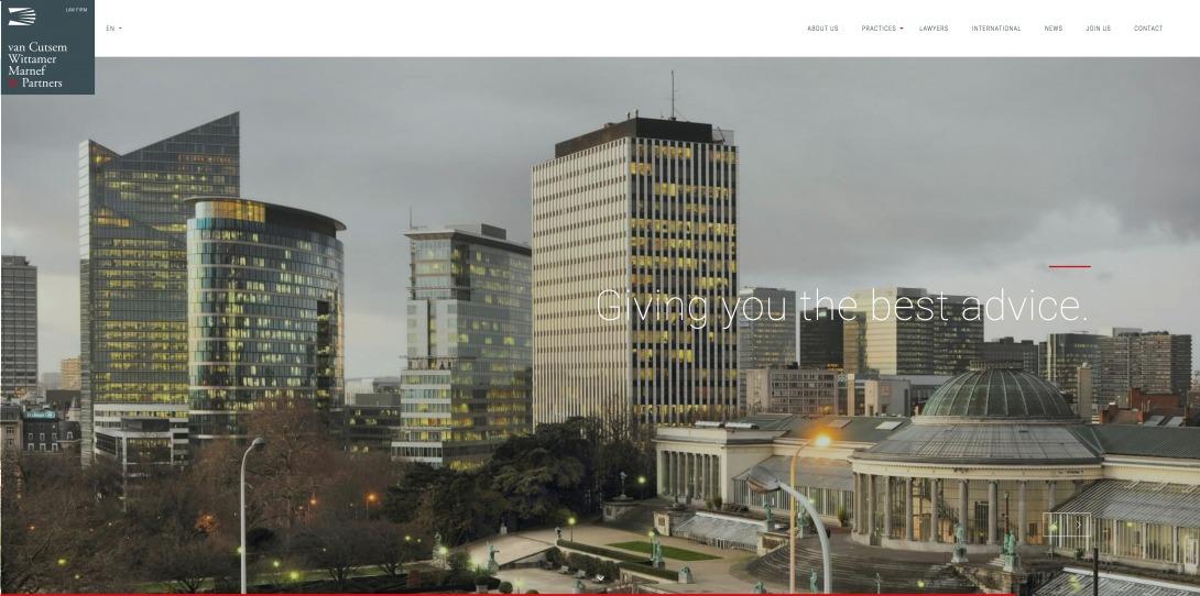 Law firm in Brussels   van Cutsem Wittamer Marnef & Partners
