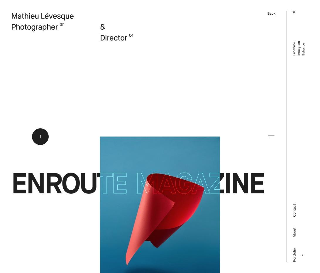 Enroute   Mathieu Lévesque