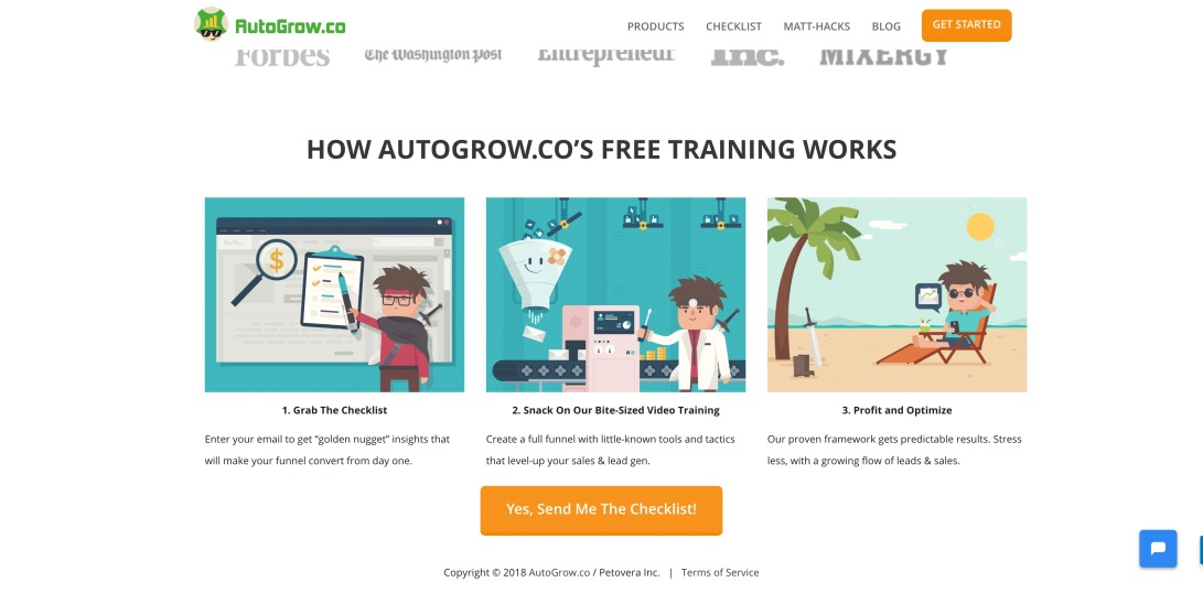 AutoGrow.co - Online Sales Funnel Training Made Easy & Enjoyable