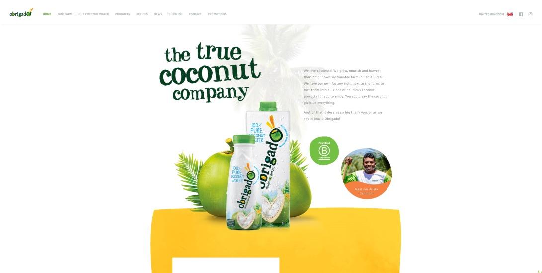Obrigado® Coconut Water
