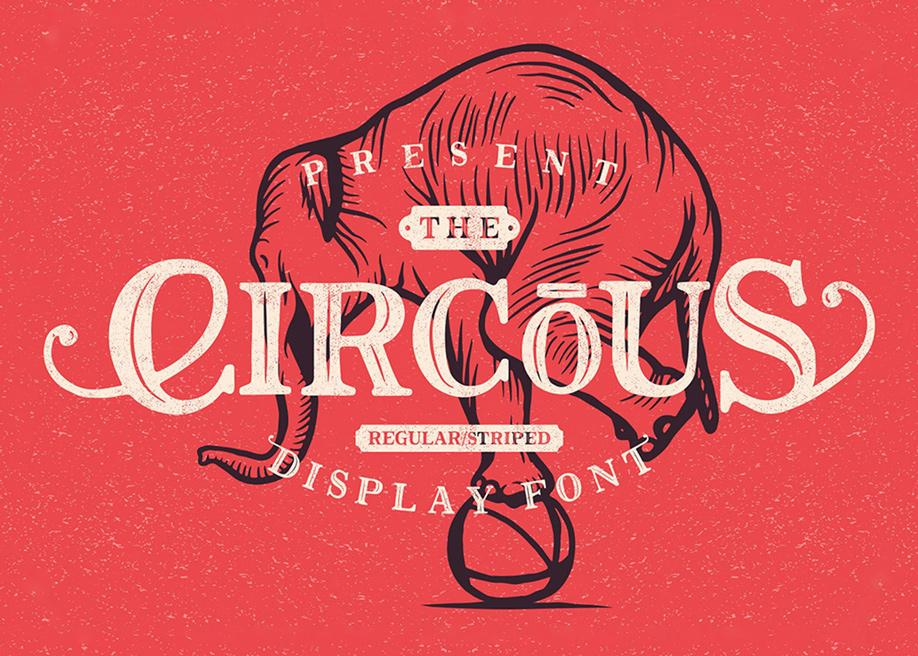 Circus Display Font