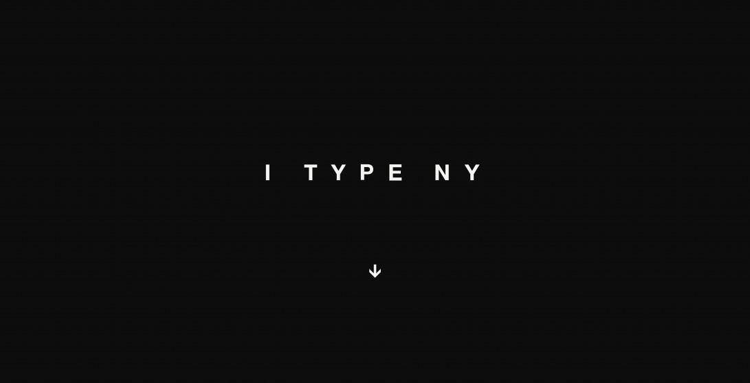 I TYPE NY