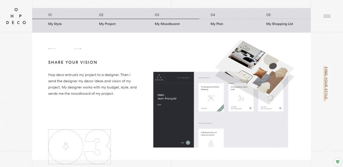 Hop déco | Online decoration service — Hop Déco