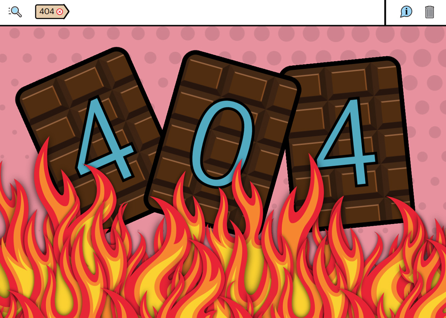 Studio Job 404 error page