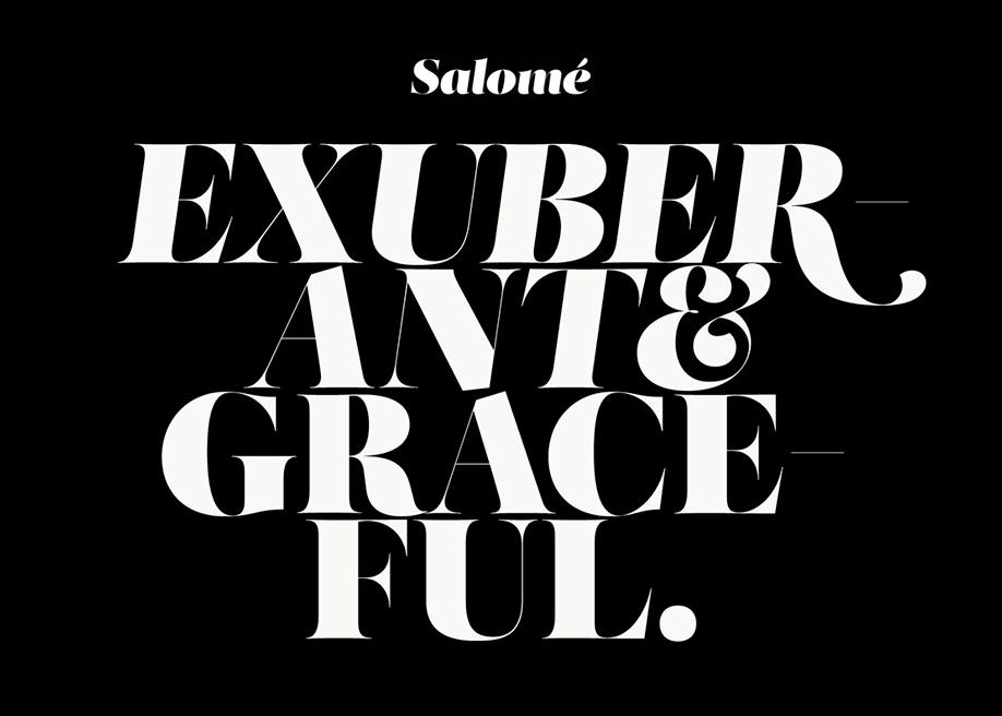 Salomé font