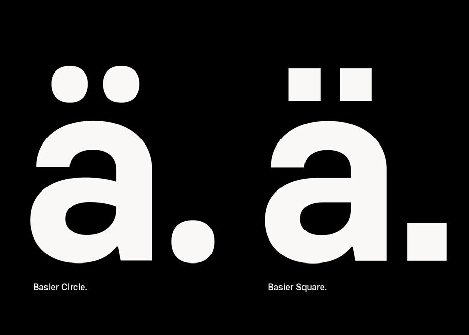 Basier font