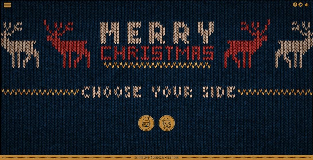 Ugly Christmas sweater generator