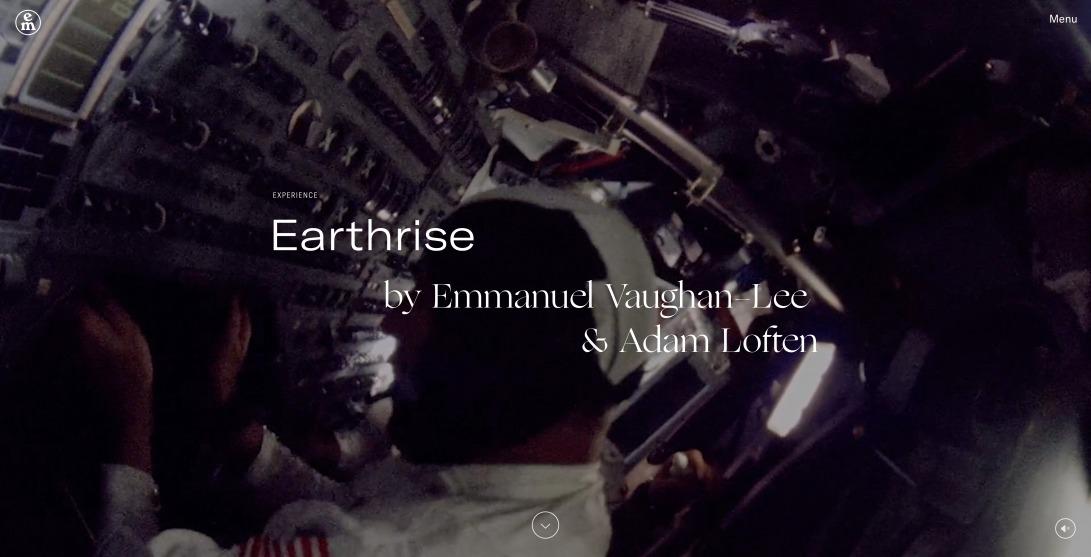 Earthrise Multimedia Experience —Emergence Magazine