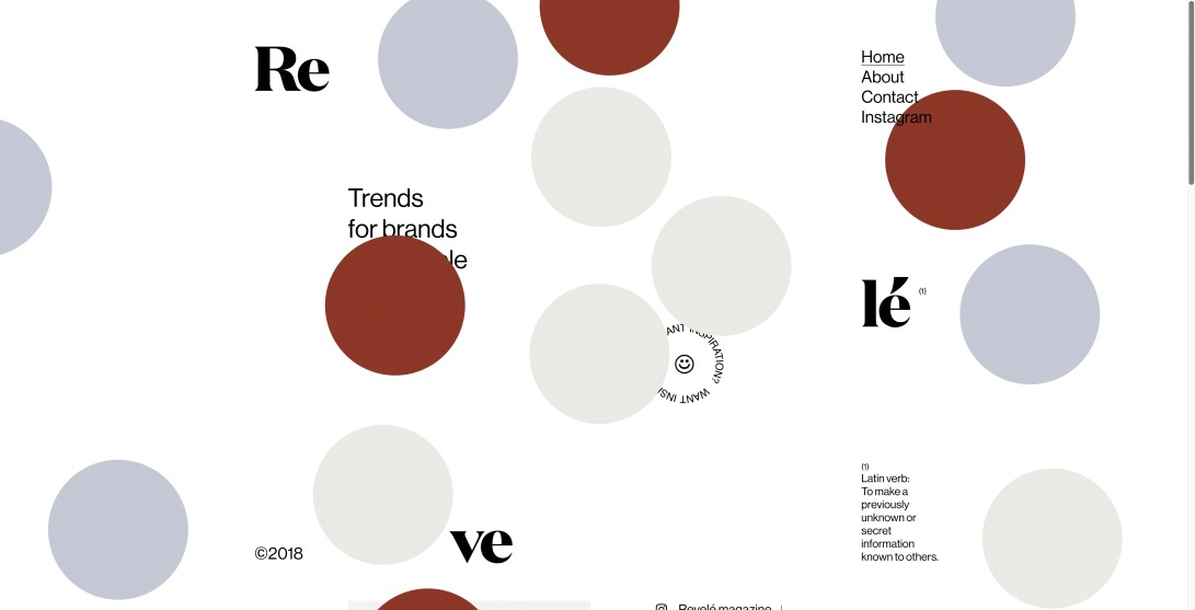 REVELÉ | Trends for brands and people