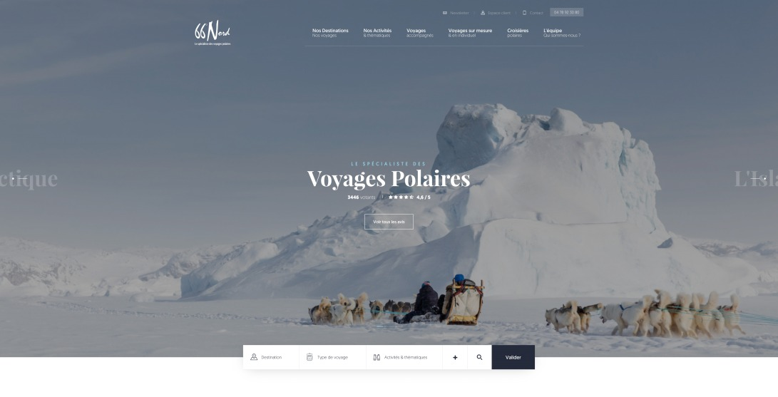 66°Nord, le Spécialiste des voyages polaires | 66° Nord