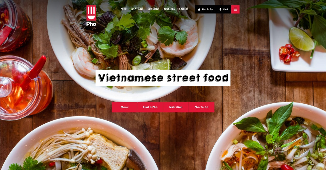 Fresh & Healthy Vietnamese Street Food - Pho Restaurants