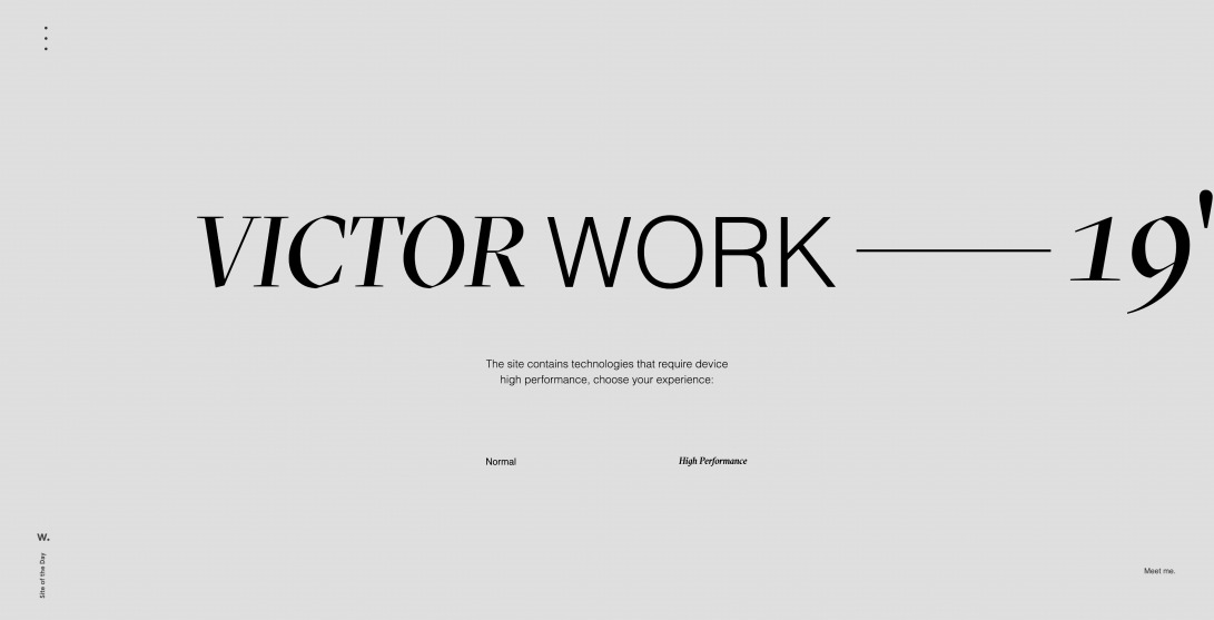 Welcome | Victor Work 19""