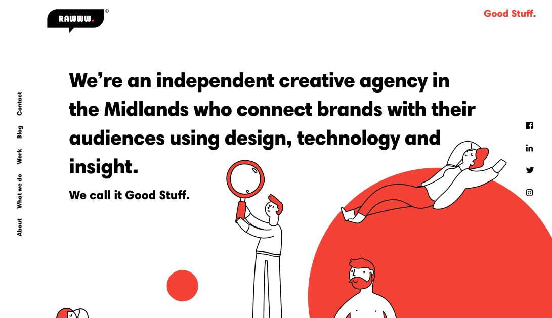 Independent creative agency Coventry - Rawww