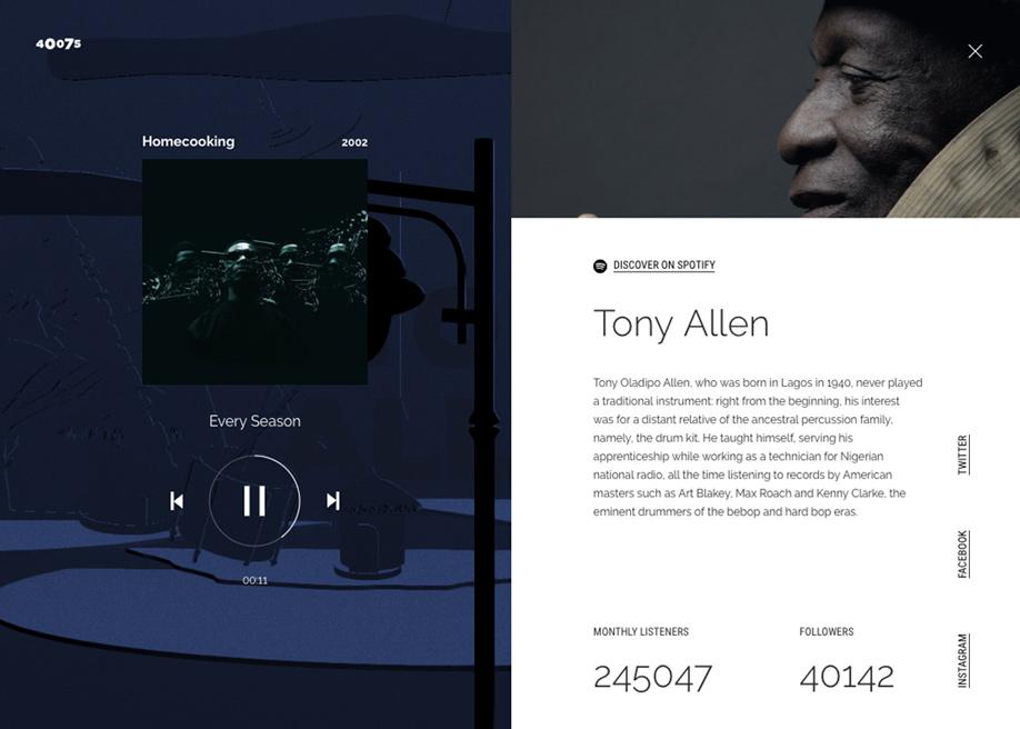 40075 - Audio player