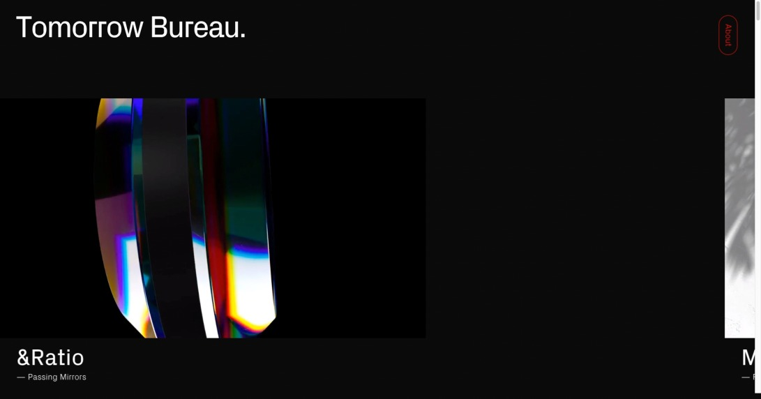 Tomorrow Bureau —Crafting digital realities for the screens of today