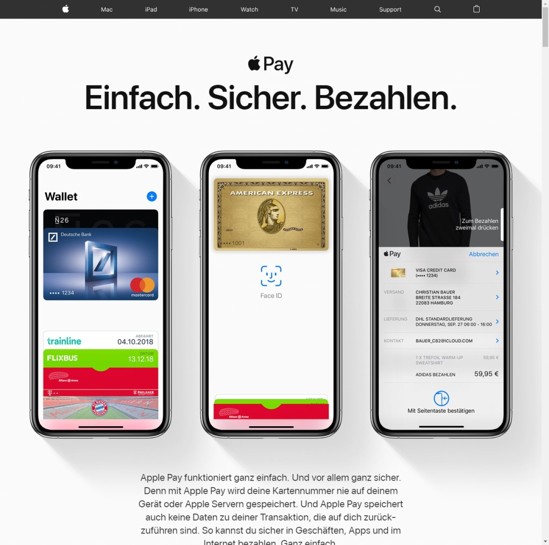 Apple Pay - Apple (DE)