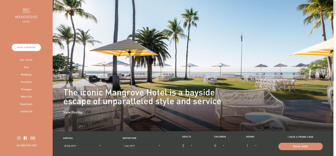 Mangrove Hotel - this iconic Hotel in Broome WA is a bayside escape of unparalleled style and service