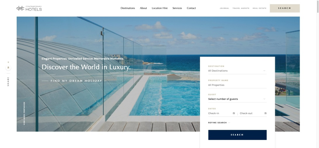 Luxury Accommodation Australia | Contemporary Hotels