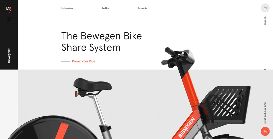 The Bewegen Bike Share System - Power Your Ride