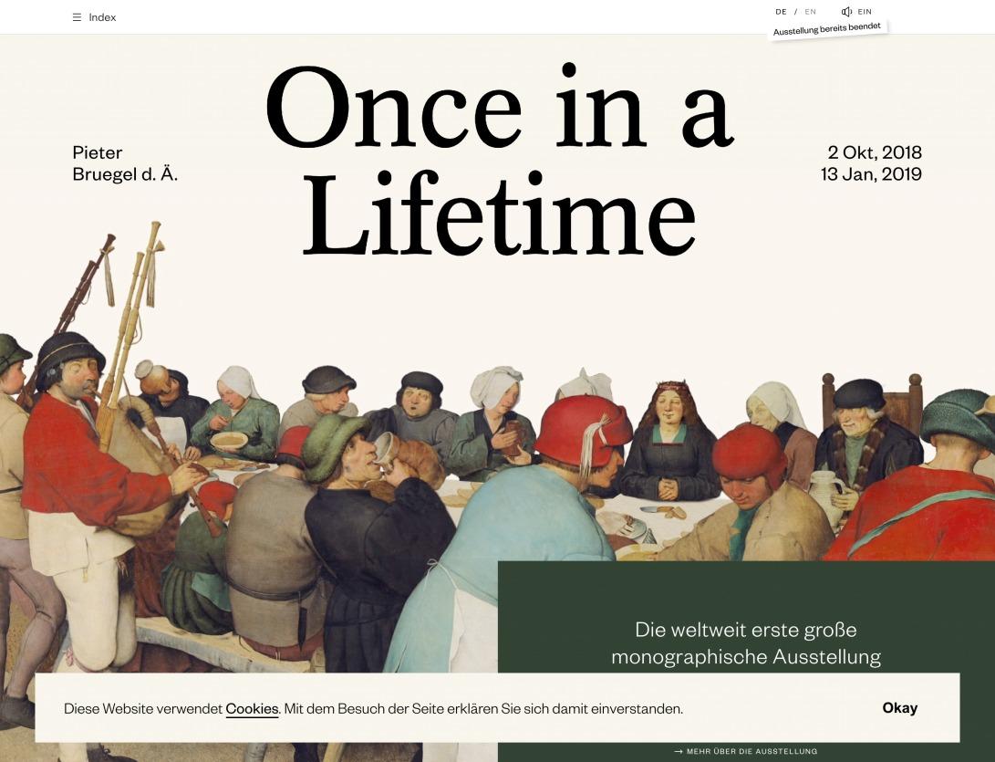 Bruegel - Once In A Lifetime