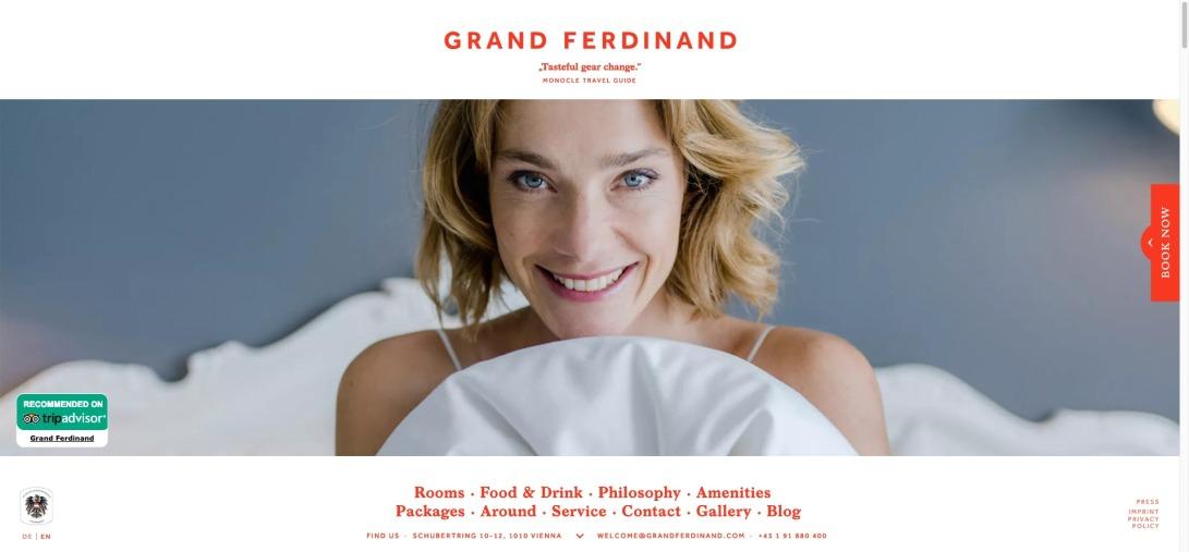 Your hotel in the city center │ Grand Ferdinand Vienna
