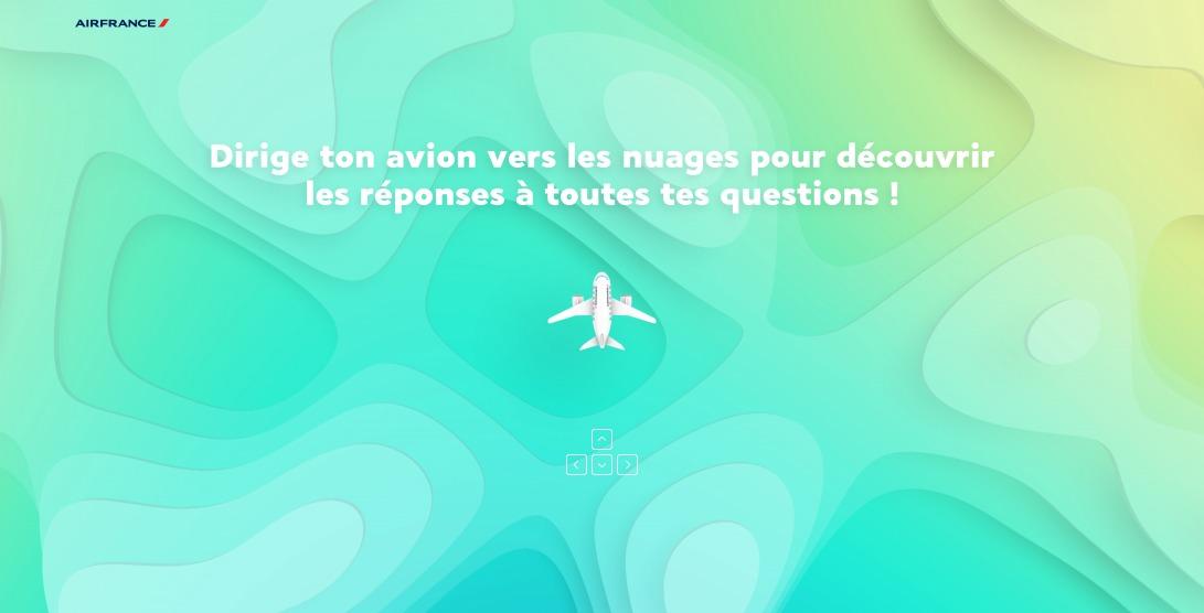 Questions à Réactions par Air France