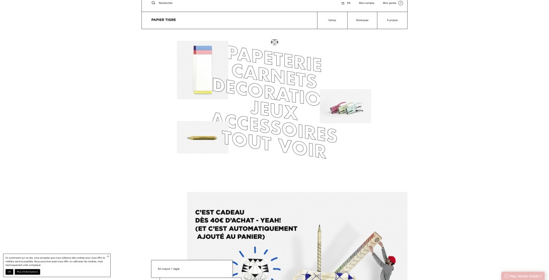Papier Tigre: Makers of great products