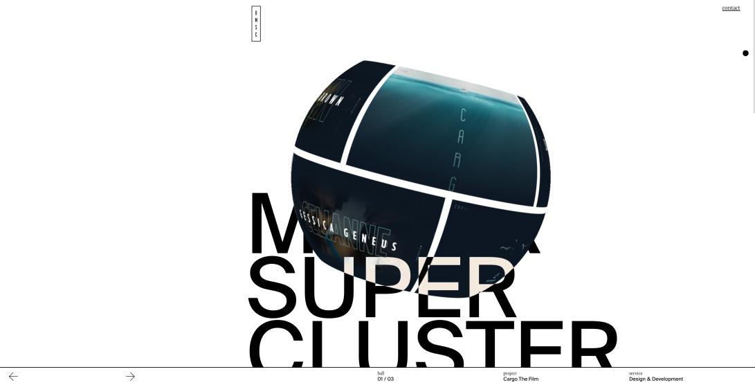 Ursa Major Supercluster - digital design Studio
