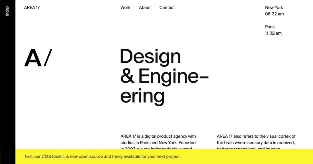 AREA 17 —A digital product agency
