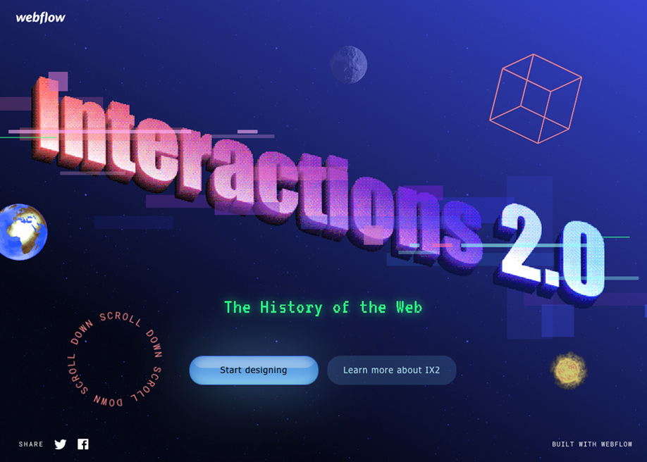 History of the web -  Webflow