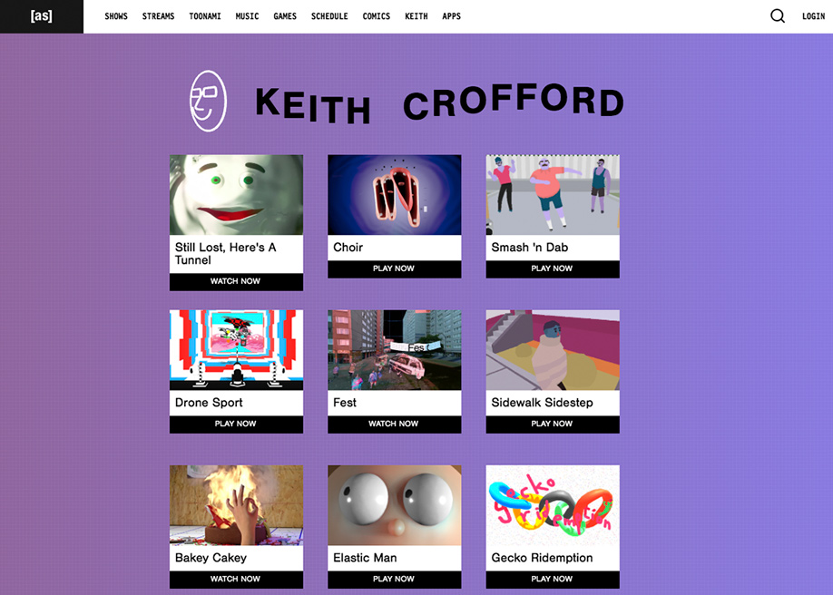 Keith Crofford - Adultswim