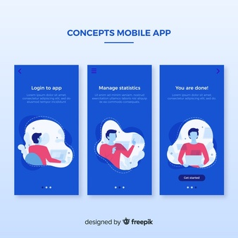 Mobile Design Vectors, Photos and PSD files | Free Download