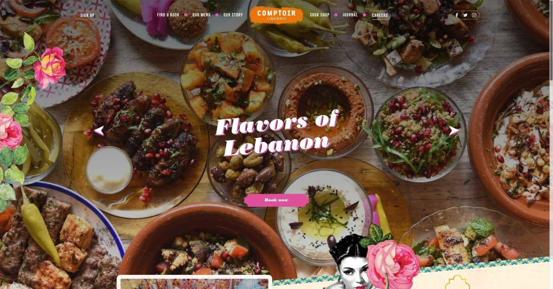 Lebanese Restaurant London - Comptoir Libanais