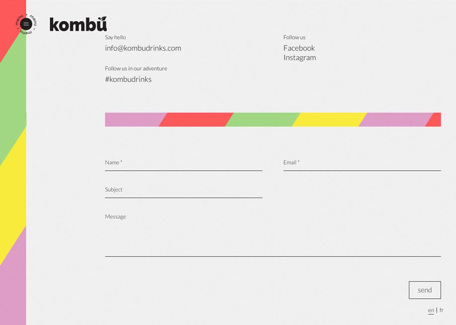 Contact form - Kombu