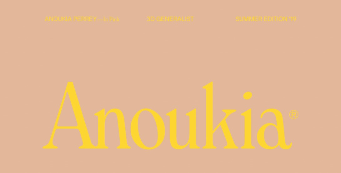 Anoukia Perrey — In Pink