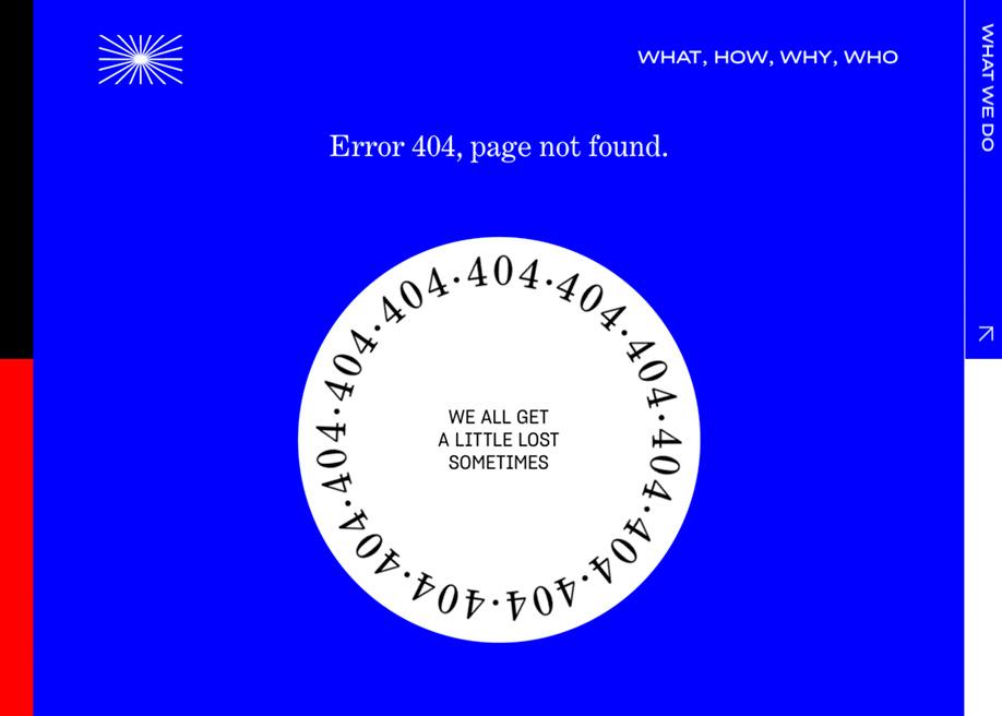 404 error page - Picturestart