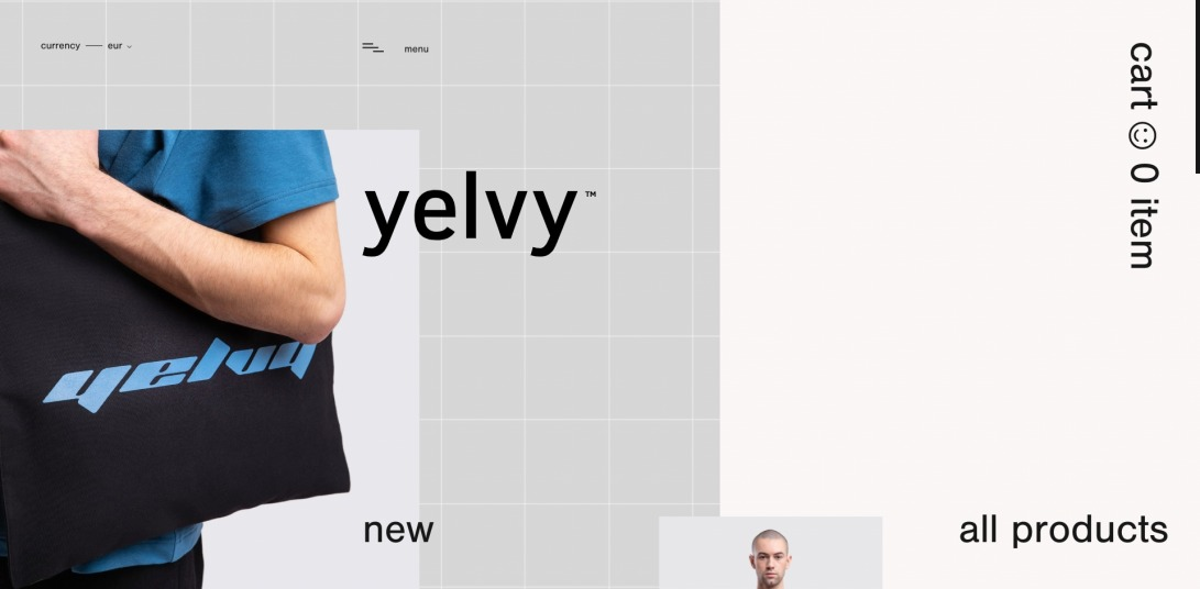 yelvy™ – online store
