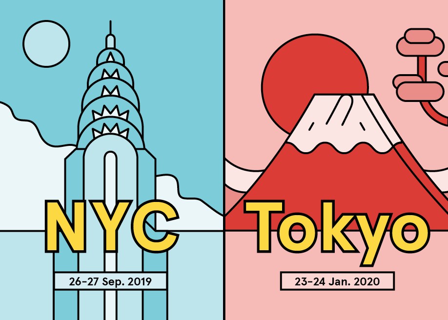 🇺🇸 🇯🇵  Awwwards Conference NYC & Tokyo are coming!