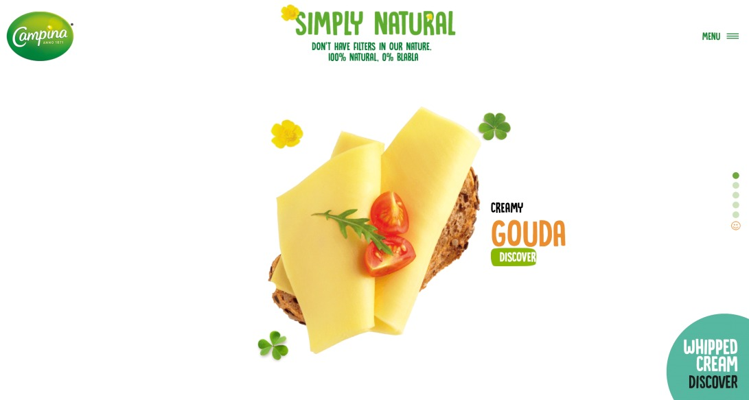 Sliced cheese | Campina Italy