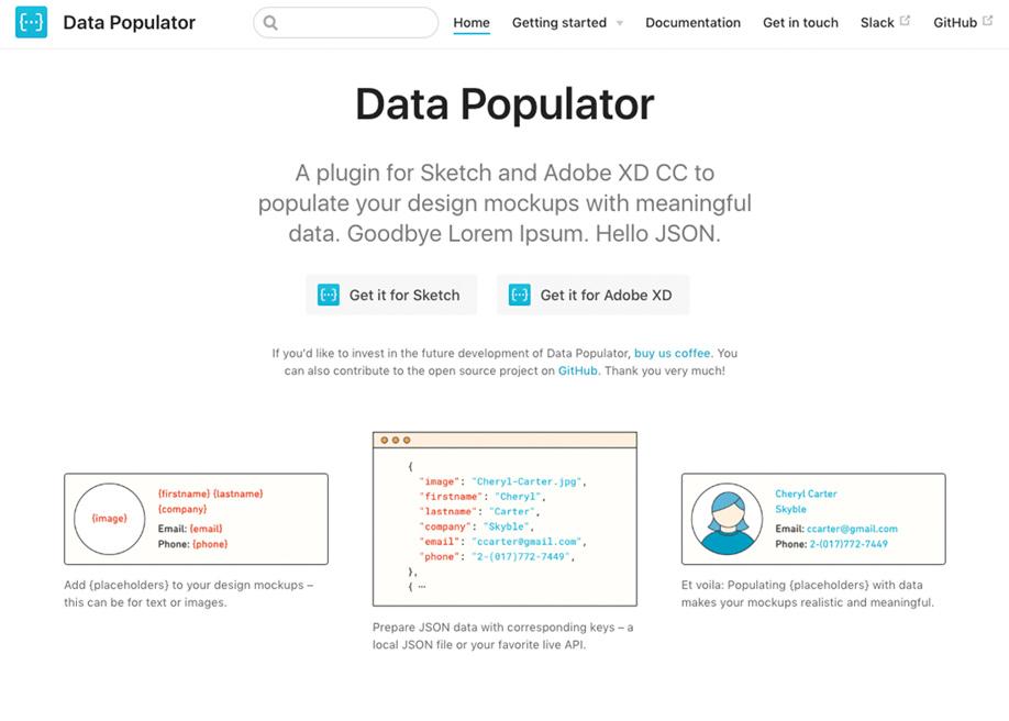 Data Populator tool