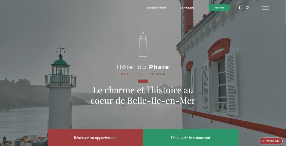 Le charme et l'histoire au coeur de Belle-Île-en-Mer - Hôtel du Phare - Hotel du phare