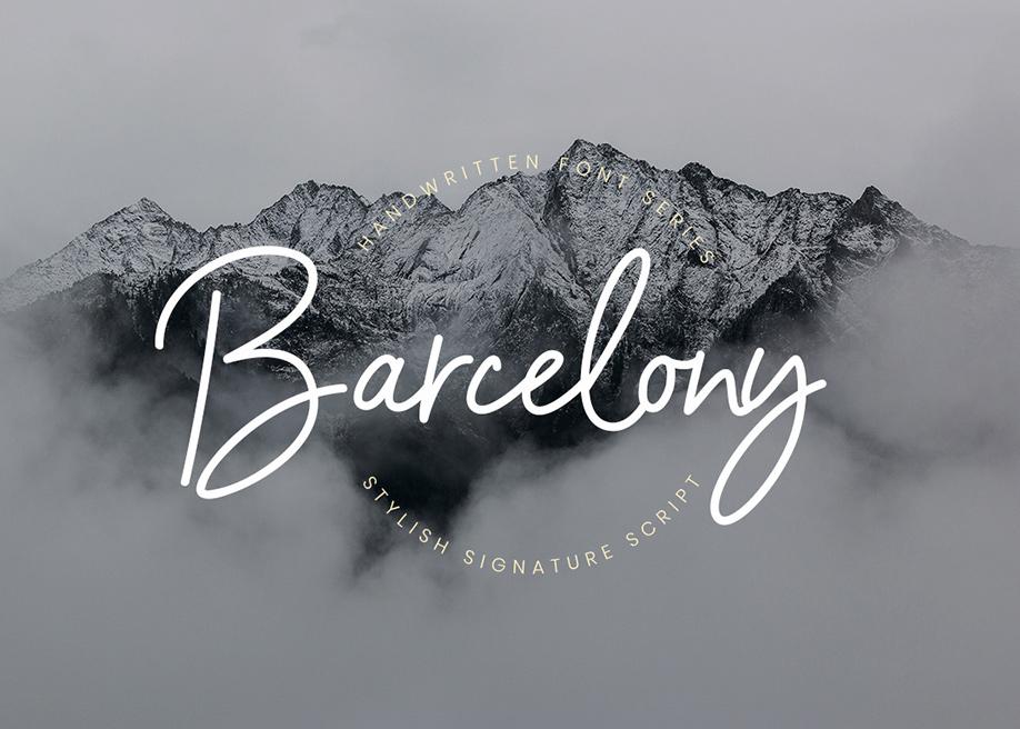 Barcelony Font