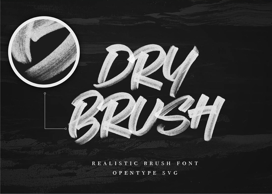 Rhythmic font