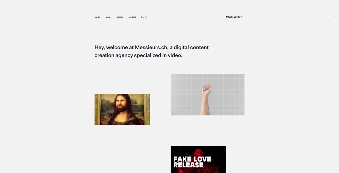 We're a creative studio based in Lausanne | Messieurs.ch