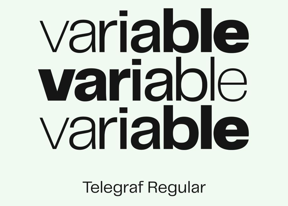 Telegraf Free Font