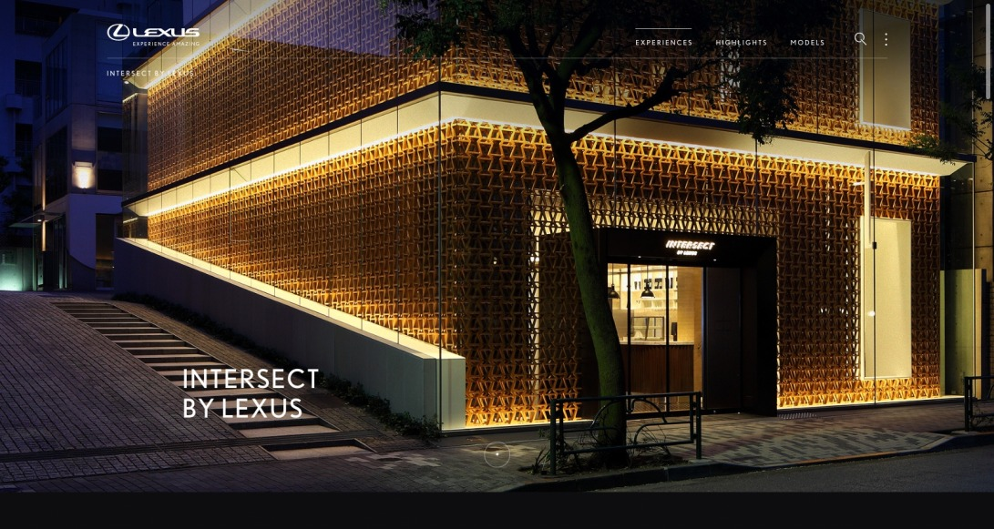 Intersect by Lexus / Discover the Global World of Lexus
