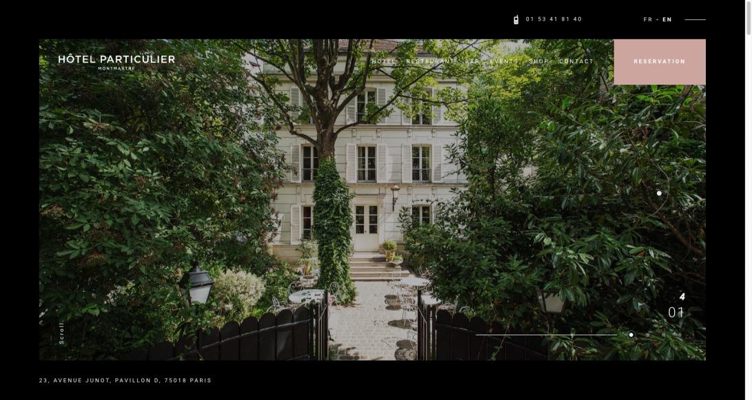 Hôtel Particulier Montmartre | Hôtel Particulier Montmartre - Suites de luxe à Paris
